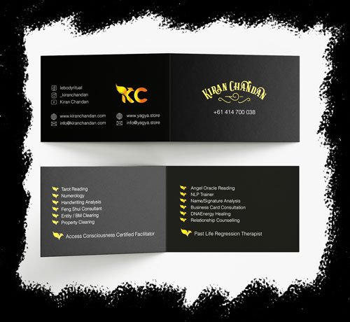 Business Card Consultation in Sydney